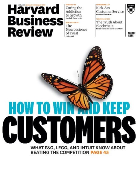 Harvard Business Review Cover - 1/1/2017