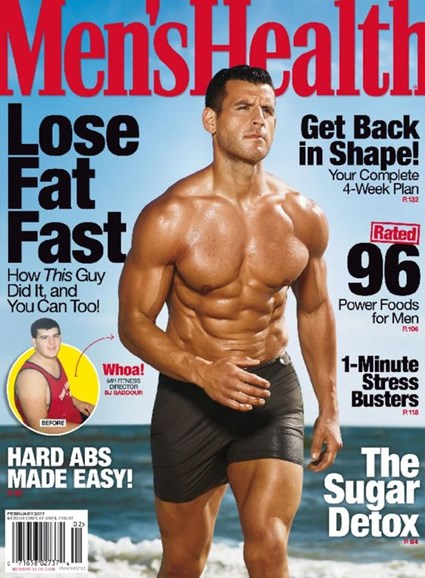 Men's Health Cover - 1/1/2017