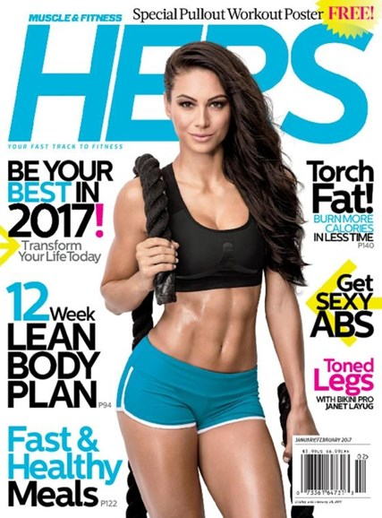 Muscle & Fitness Hers Cover - 1/1/2017