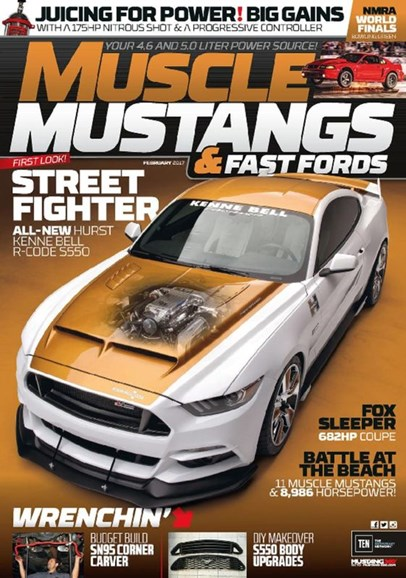 Muscle Mustangs & Fast Fords Cover - 2/1/2017