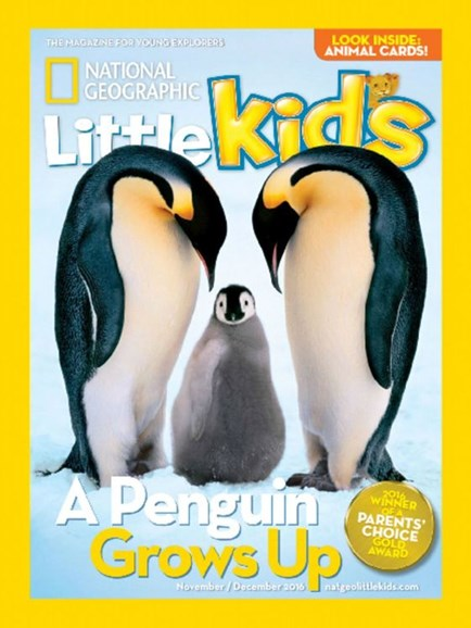 National Geographic Little Kids Cover - 11/1/2016