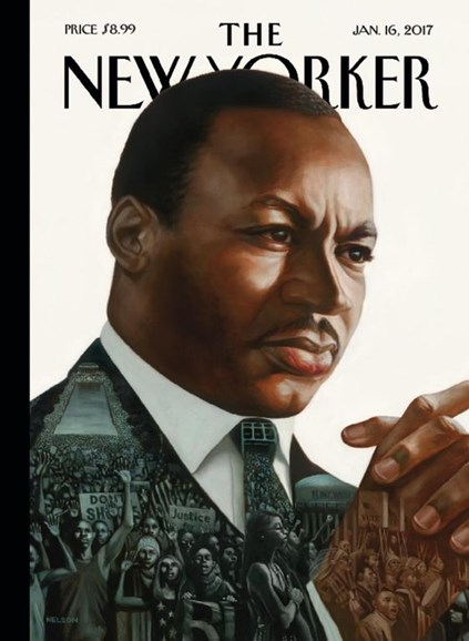 The New Yorker Cover - 1/16/2017