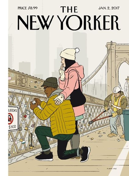 The New Yorker Cover - 1/2/2017