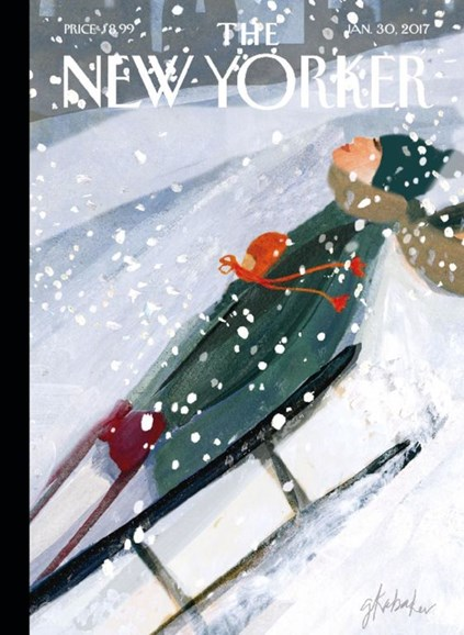 The New Yorker Cover - 1/30/2017