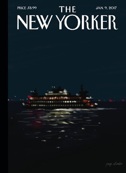The New Yorker Cover - 1/9/2017