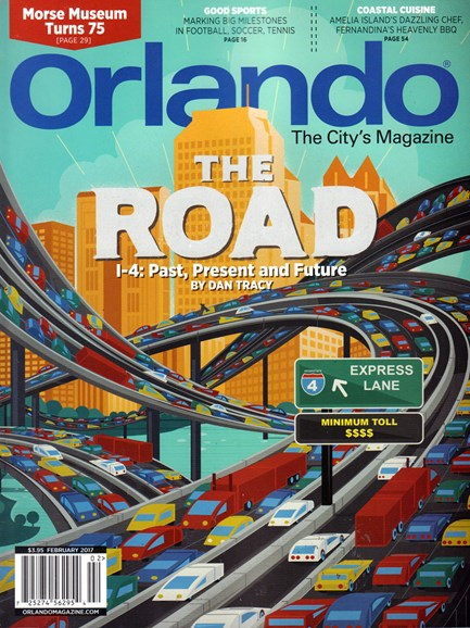 Orlando Magazine Cover - 2/1/2017