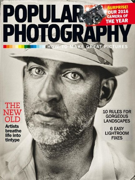 Popular Photography Cover - 1/1/2017