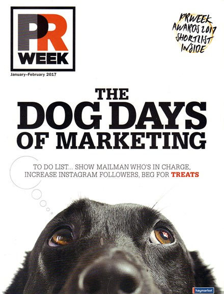 PRWeek Cover - 1/1/2017