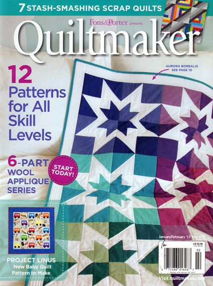 Quiltmaker Cover - 1/1/2017