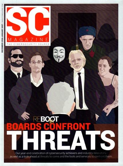 SC Magazine - U.S. edition Cover - 12/1/2016
