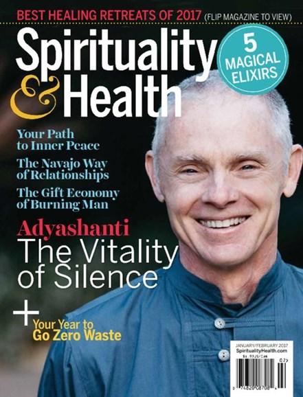 Spirituality & Health Cover - 1/1/2017