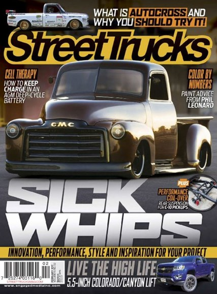 Street Trucks Cover - 2/1/2017