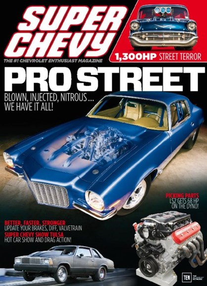 Super Chevy Cover - 2/1/2017