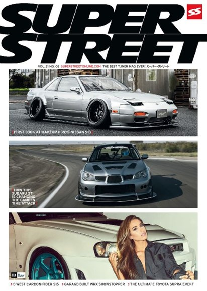 Super Street Cover - 2/1/2017