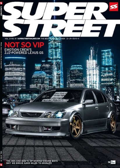 Super Street Cover - 1/1/2017