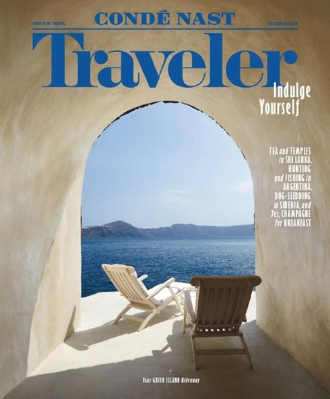 Condé Nast Traveler Cover - 12/1/2016