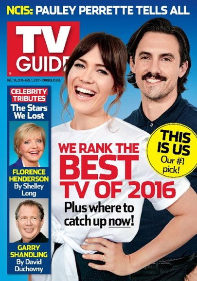 TV Guide Cover - 12/19/2016