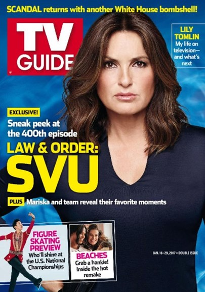 TV Guide Cover - 1/16/2017