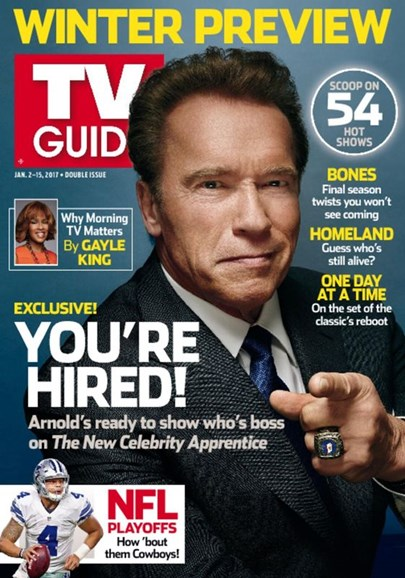 TV Guide Cover - 1/2/2017