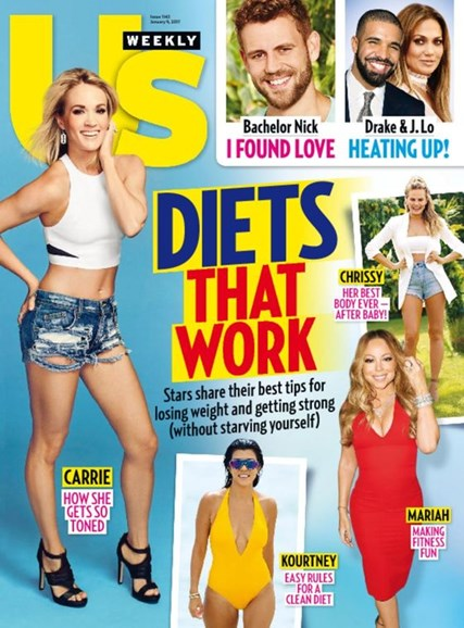 Us Weekly Cover - 1/9/2017