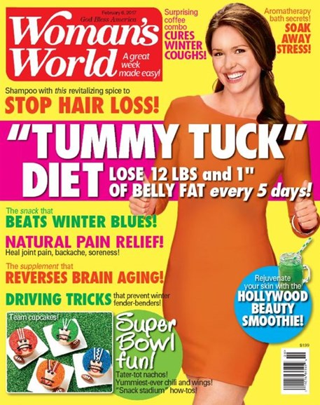 Woman's World Cover - 2/6/2017