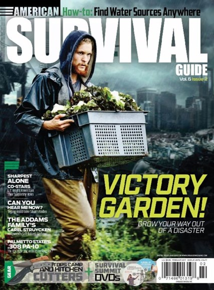 American Survival Guide Cover - 2/1/2017
