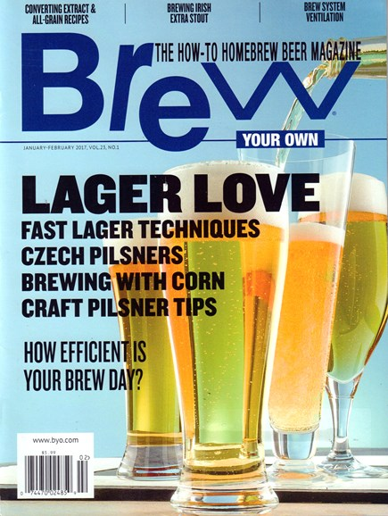 Brew Your Own Cover - 1/1/2017