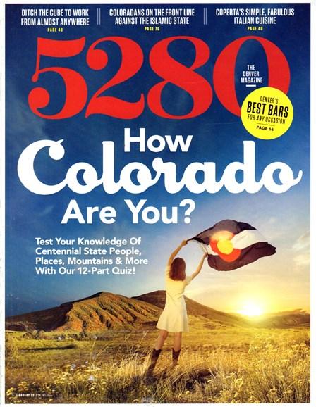 5280 Magazine Cover - 2/1/2017