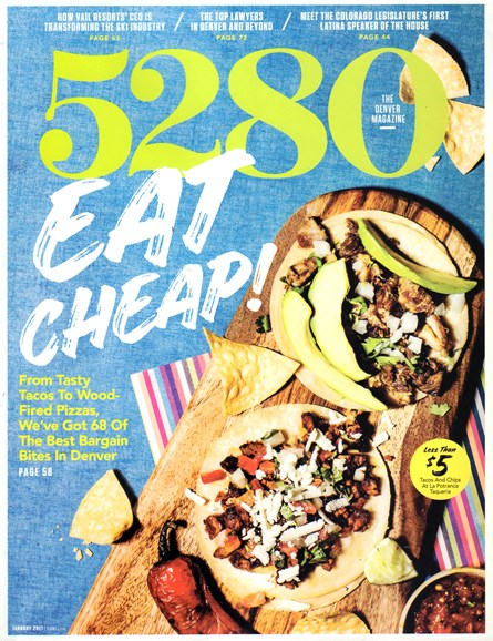 5280 Magazine Cover - 1/1/2017