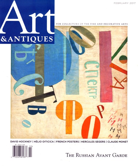 Art & Antiques Cover - 2/1/2017