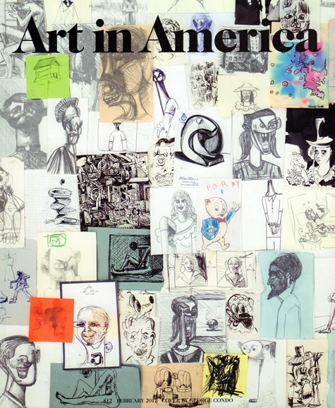 Art In America Cover - 2/1/2017