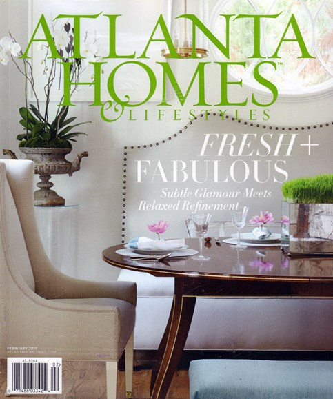 Atlanta Homes & Lifestyles Cover - 2/1/2017