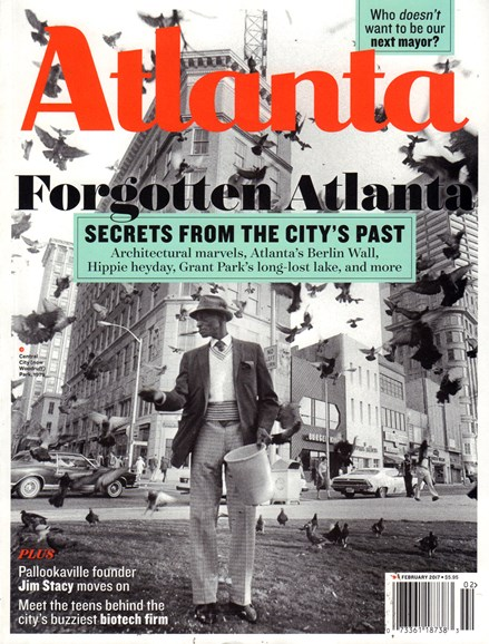 Atlanta Magazine Cover - 2/1/2017