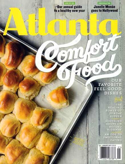 Atlanta Magazine Cover - 1/1/2017