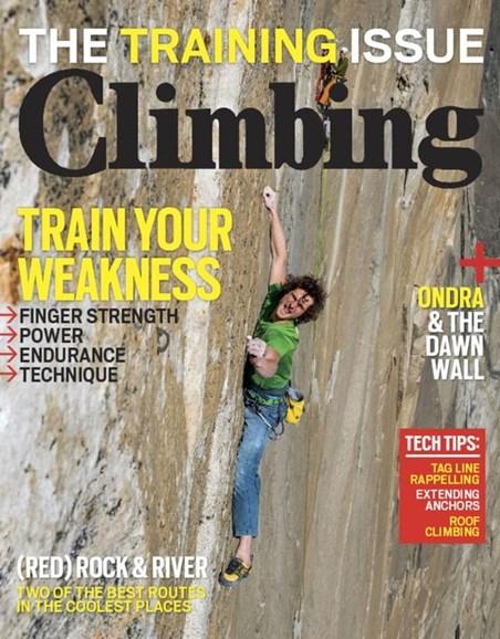 Climbing Magazine Cover - 2/1/2017