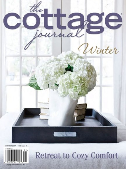 The Cottage Journal Cover - 1/1/2017