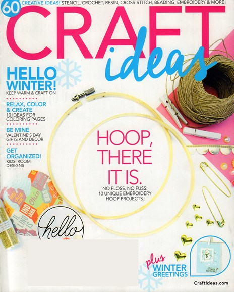 Craft Ideas Cover - 12/1/2016