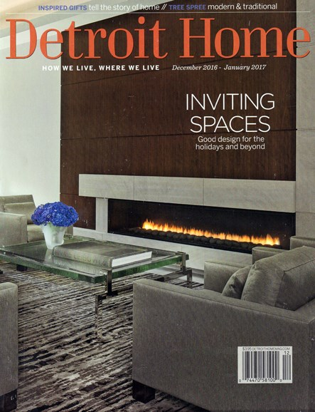 Detroit Home Cover - 12/1/2016