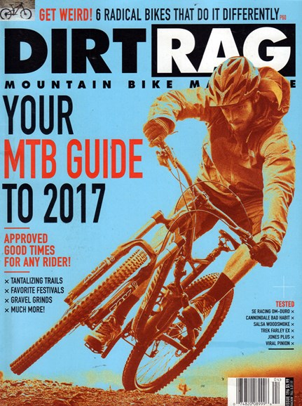 Dirt Rag Cover - 2/1/2017