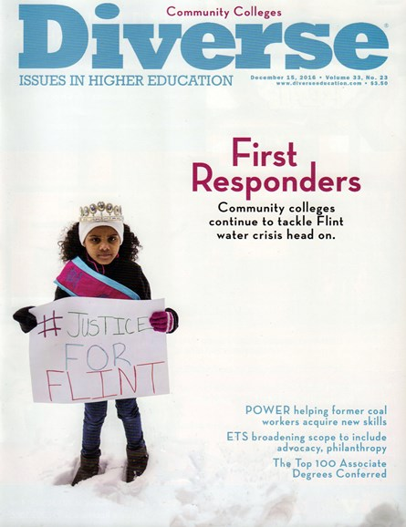 Diverse: Issues In Higher Education Cover - 12/15/2016
