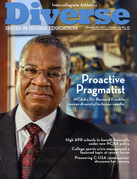 Diverse: Issues In Higher Education Cover - 1/12/2017