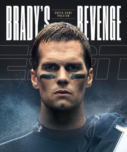 ESPN The Magazine Cover - 2/6/2017
