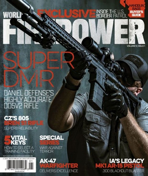 World of Firepower Cover - 1/1/2017