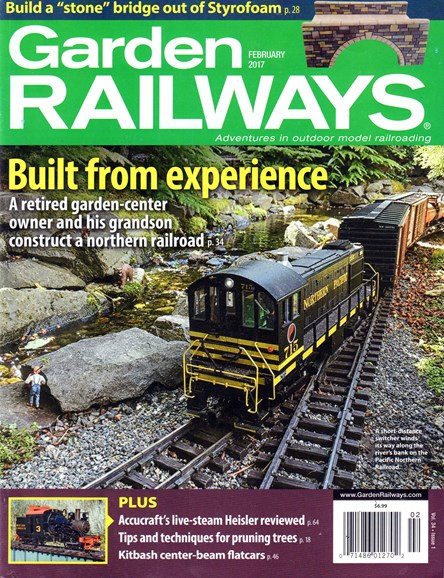 Garden Railways Cover - 2/1/2017