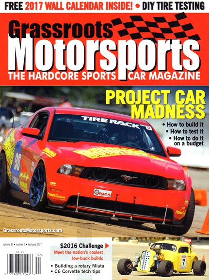 Grassroots Motorsports Cover - 2/1/2017