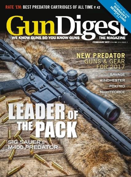Gun Digest Cover - 2/1/2017