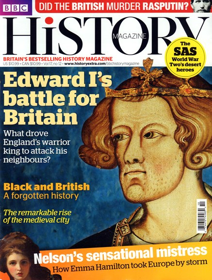 BBC History Cover - 12/1/2016