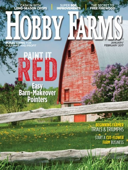 Hobby Farms Cover - 1/1/2017