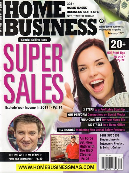Home Business Magazine Cover - 2/1/2017