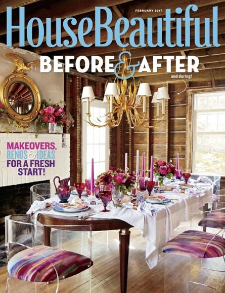 House Beautiful Cover - 2/1/2017